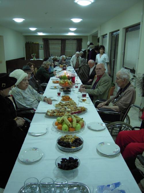 Badnje veče u Domu za starije 2009